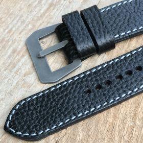 Black Cowhide Strap