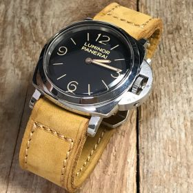 Buttero Mustard Soft Leather Strap
