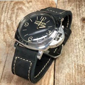 Buttero Black Soft Leather Strap