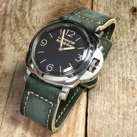Buttero Green Soft Leather Strap