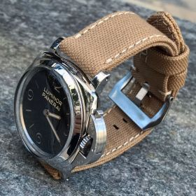 Sand Rolled Canvas Strap