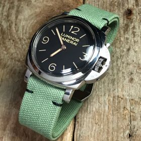 Light Green Rolled Canvas Strap