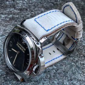 Buttero White Soft Leather Strap