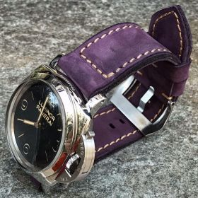 Buttero Purple Soft Leather Strap