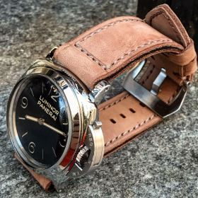 Buttero Light Brown Soft Leather Strap