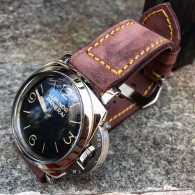 Buttero Grape Soft Leather Strap