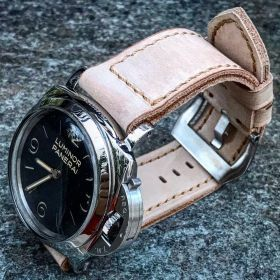 Buttero Cream Soft Leather Strap
