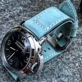 Buttero Pale Blue Soft Leather Strap