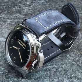 Buttero Steel Blue Soft Leather Strap