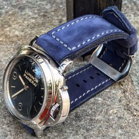 Buttero Blue Soft Leather Strap