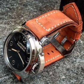 Buttero Orange Soft Leather Strap
