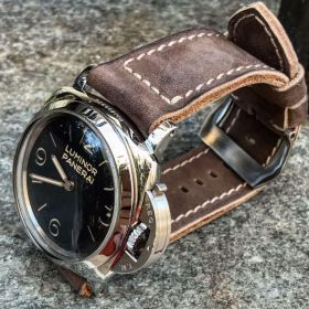 Buttero Taupe Soft Leather Strap