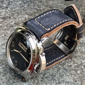 Buttero Space Blue Soft Leather Strap