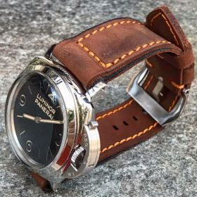 Buttero Brown Soft Leather Strap