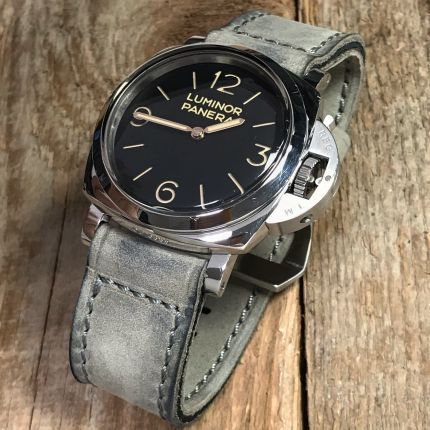 Buttero Grey Soft Leather Strap